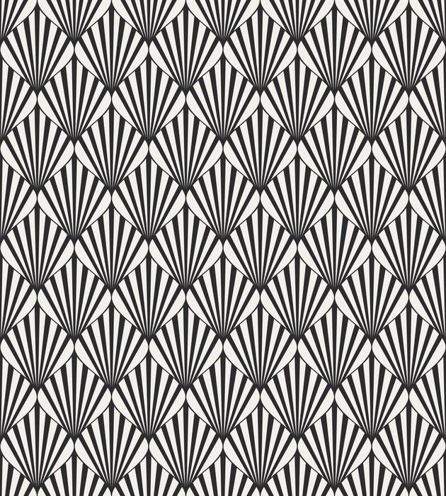 Papier peint vinyle Seamless géométrique. - Ressources graphiques