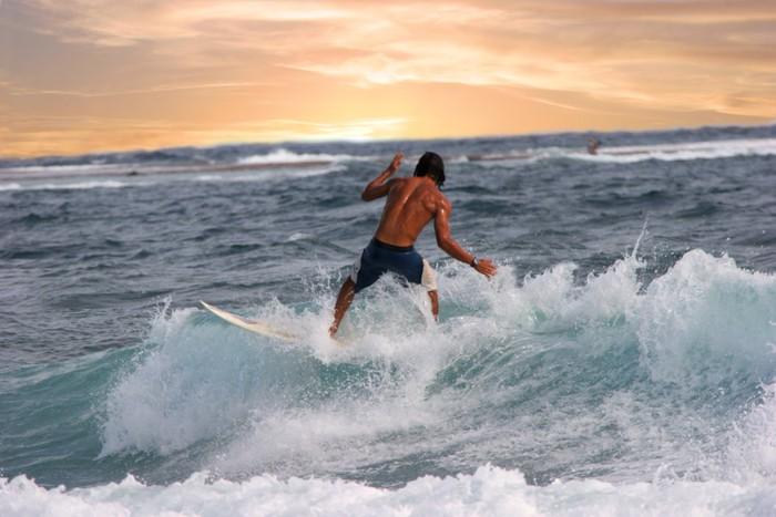 Tableau sur Toile Surfeur 8 - Thèmes