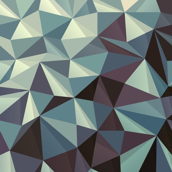 sticker triangle motif g om trique abstrait pixers. Black Bedroom Furniture Sets. Home Design Ideas