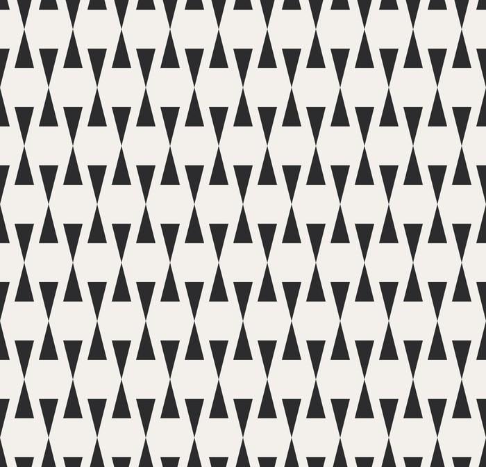 Papier peint vinyle Seamless géométrique. -