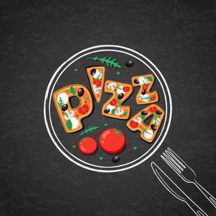 Vector Design For Italian Restaurant Menu Cafe Pizzeria