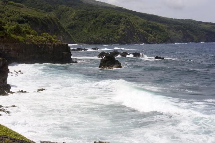Vinylová Tapeta Vlny oceánu - Voda