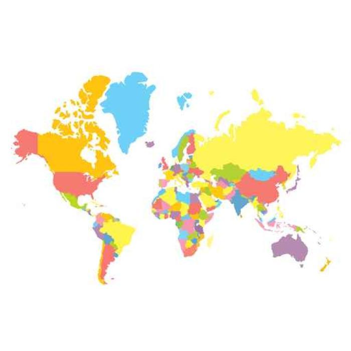 papier peint motifs vecteur colorfull carte du monde. Black Bedroom Furniture Sets. Home Design Ideas