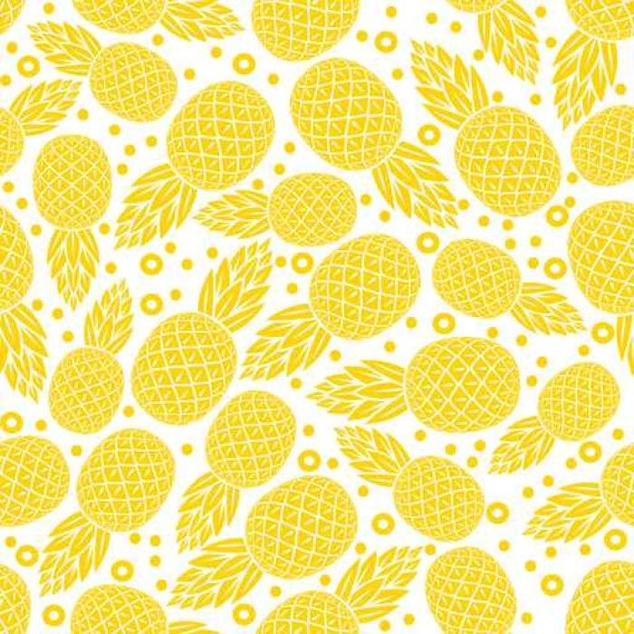 tapete gelbe ananas nahtlose muster pixers wir leben. Black Bedroom Furniture Sets. Home Design Ideas