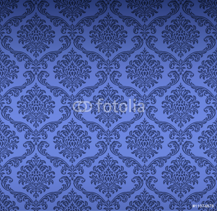 papier peint seamless damask wallpaper pixers nous vivons pour changer. Black Bedroom Furniture Sets. Home Design Ideas