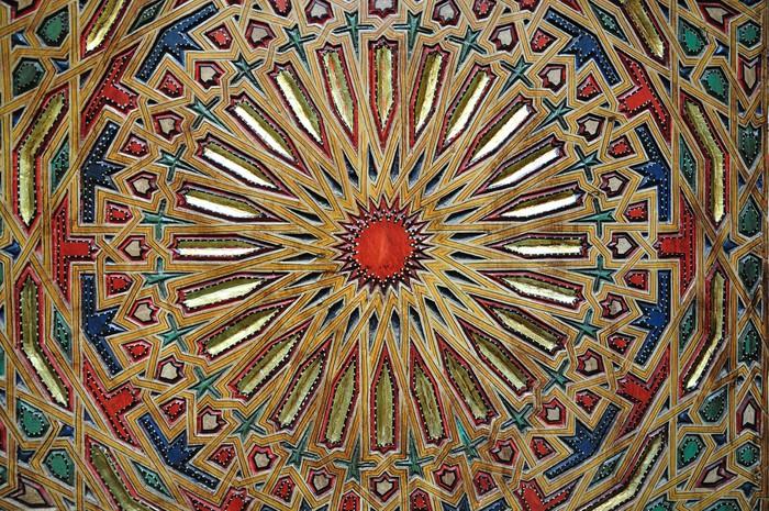 Vinylová fototapeta Orientální dekorace v Maroku - Vinylová fototapeta