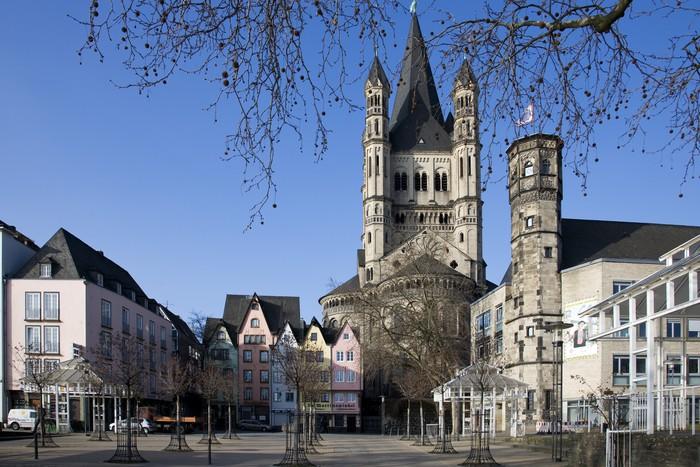 Vinylová Tapeta Köln Martins Kirche - Evropa