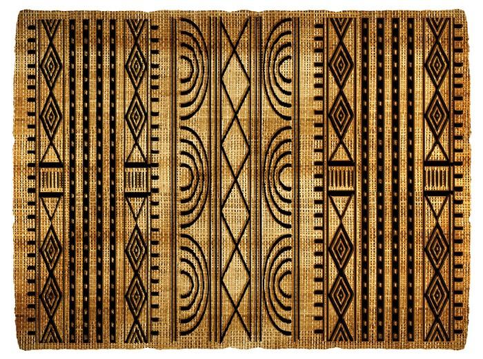 sticker tapis africain pixers nous vivons pour changer. Black Bedroom Furniture Sets. Home Design Ideas