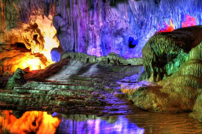 Vinylová Tapeta Jeskyně v Halong Bay (Thajsko) - Asie