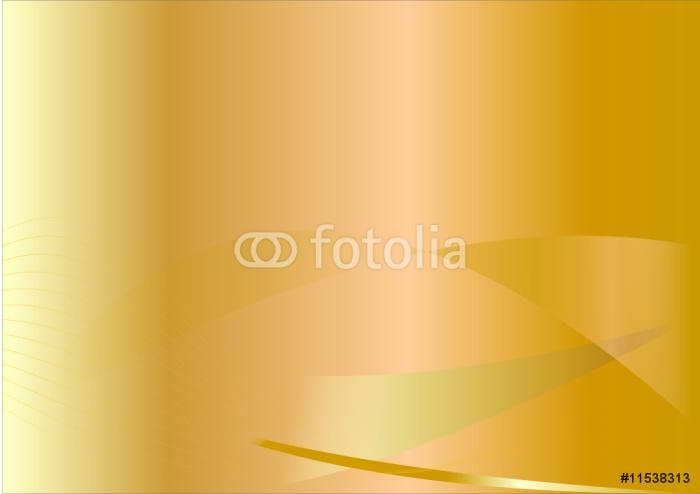 Vinylová Tapeta Zlaté pozadí - Pozadí