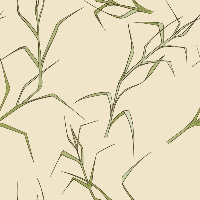 Pixerstick Dekor Seamless blommiga mönster - Grafiska resurser