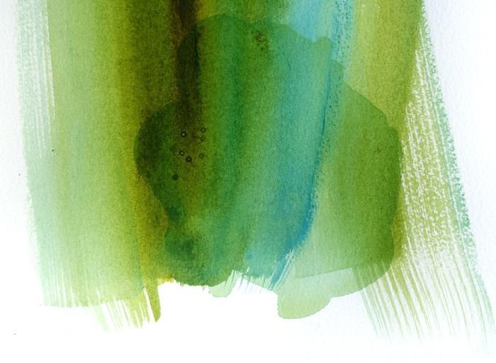 Fototapet av Vinyl Abstrakt vattenfärg bakgrund design - Grafiska resurser