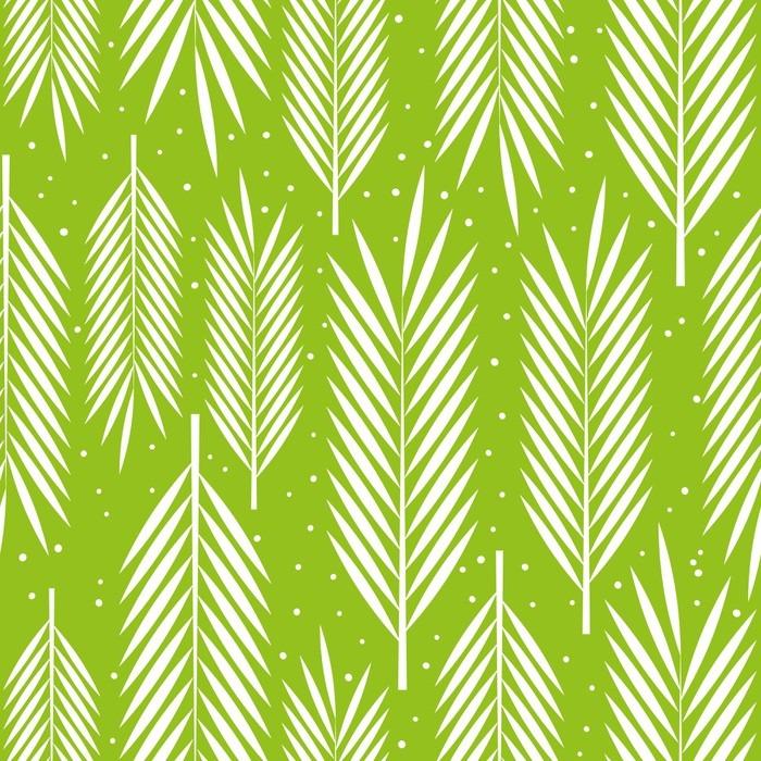 tableau sur toile seamless avec des feuilles de palmier ornement pixers nous vivons pour. Black Bedroom Furniture Sets. Home Design Ideas