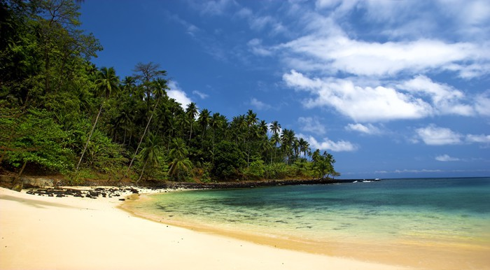 Vinylová Tapeta Equator Beach - Voda