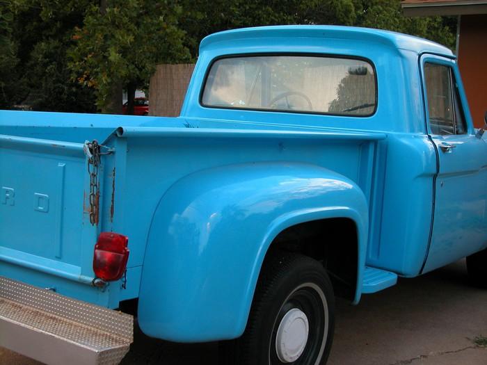 Vinylová Tapeta Modrá Truck - Na cestě