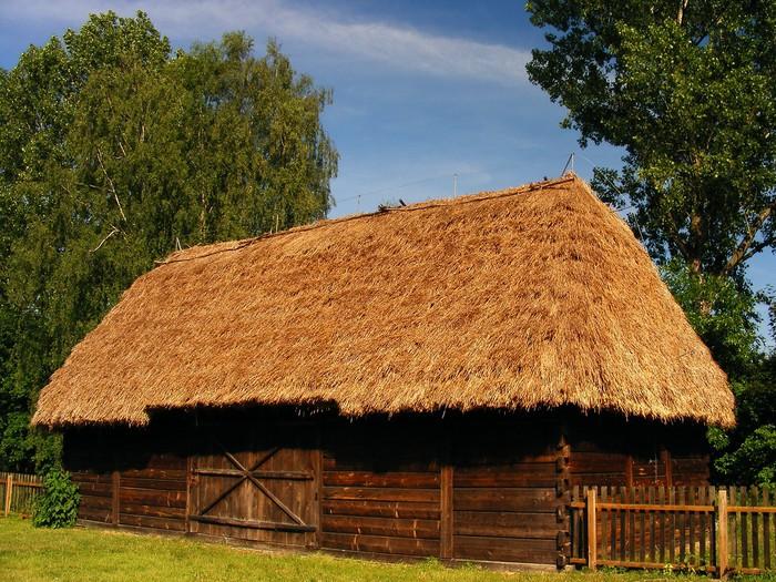 Chata słomiana