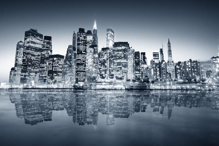 Fototapete New york manhattan • Pixers® - Wir leben, um zu verändern