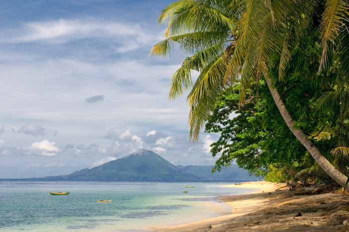 Vinylová Tapeta Tropické pláže, banda ostrovy, indonésie - Prázdniny