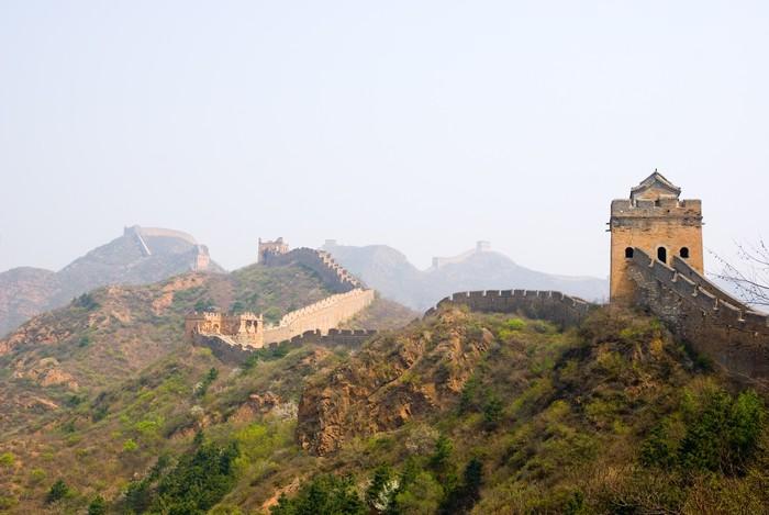 Vinylová Tapeta Simatai - Velká čínská zeď - Asie