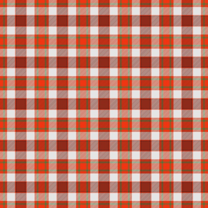 Red Checkered Tablecloth Style Traditional Rural Pattern Vinyl Wallpaper    Graphic Resources