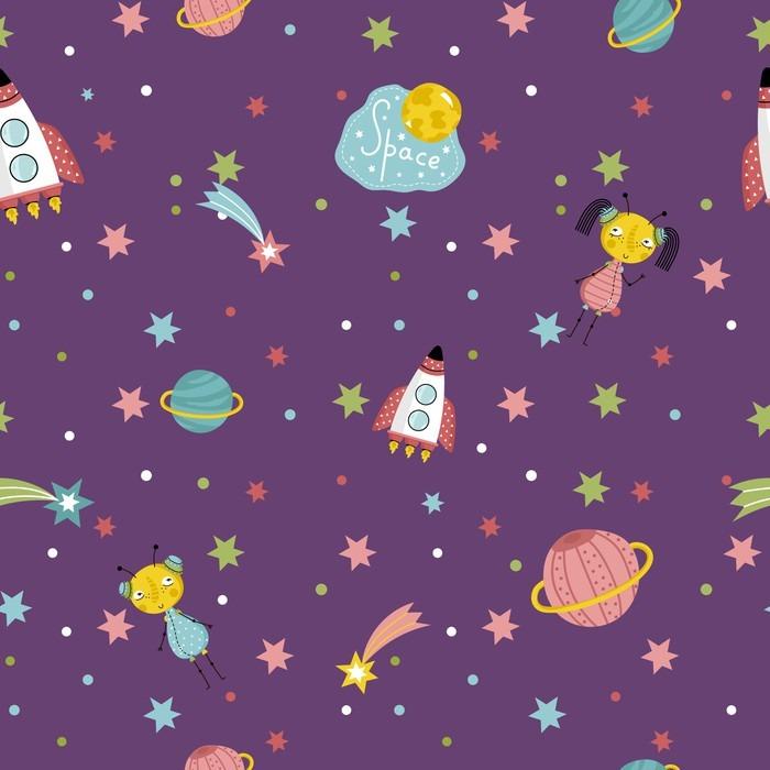 Carta da parati spazio interstellare viaggia cartone