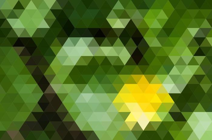 Fototapet av Vinyl Abstrakt geometrisk bakgrund - Grafiska resurser