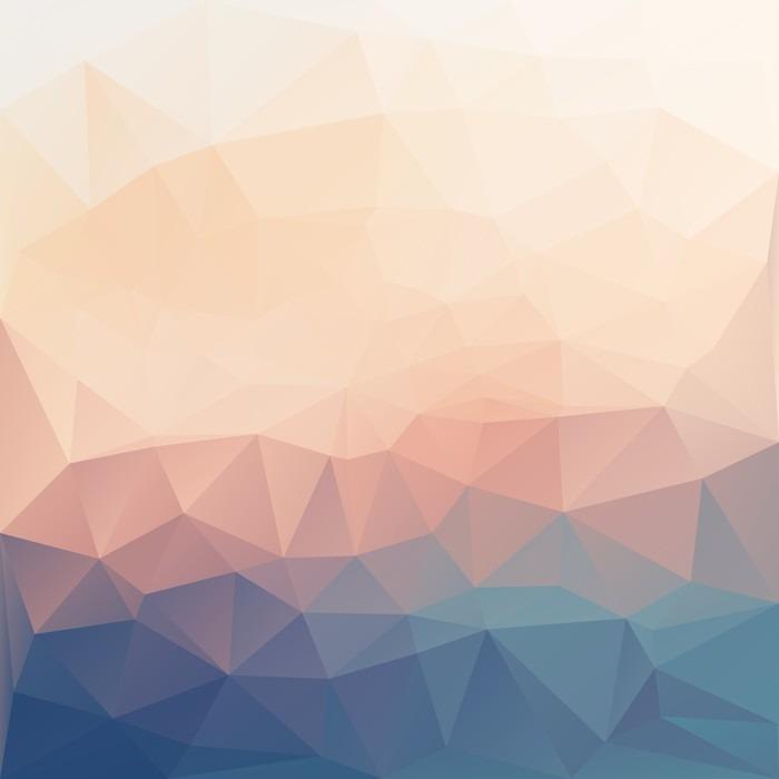 Papier peint vinyle Résumé poligonal de fond texturé. - Ressources graphiques
