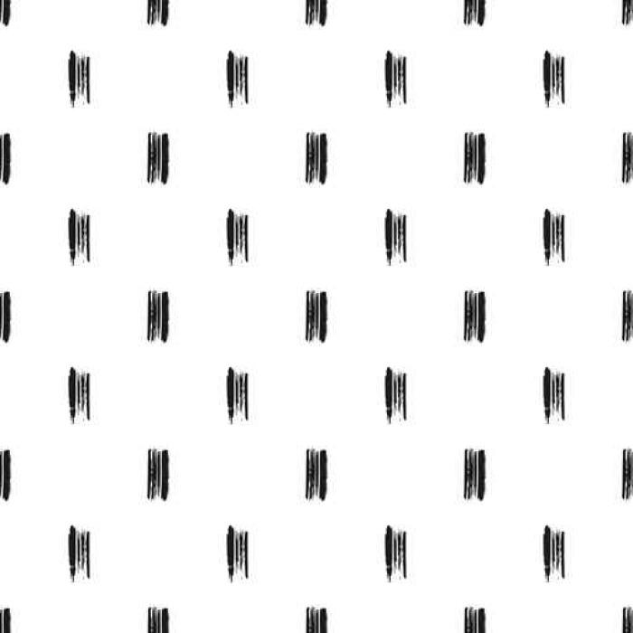 Fototapete Nahtlose Muster von Grunge Pinselstriche, abstrakten ...