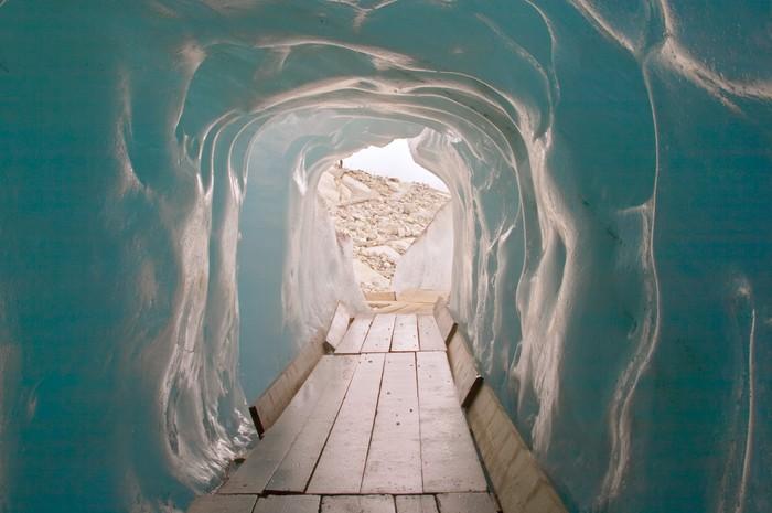 Vinylová Tapeta V ledové jeskyni - Evropa