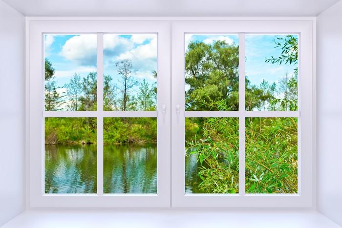 Fototapete Fenster fototapete fenster zur natur pixers wir leben um zu verändern