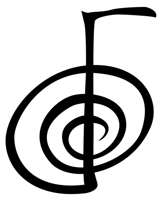 Chokurei The Power Symbol In Reiki One Sticker Pixers We Live