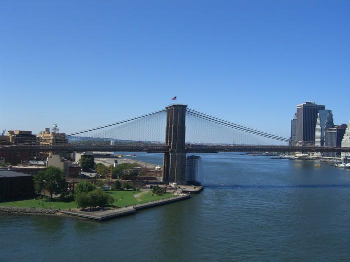 Vinylová Tapeta Brooklyn bridge - Brooklynský Most