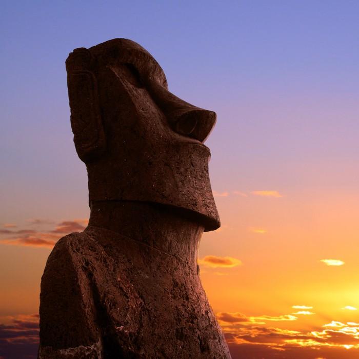 Easter island Wall Mural - Vinyl - Monuments