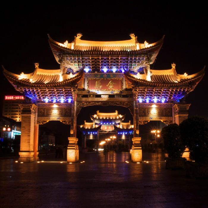 Carta da parati porta cinese pixers viviamo per il for Carta da parati cinese