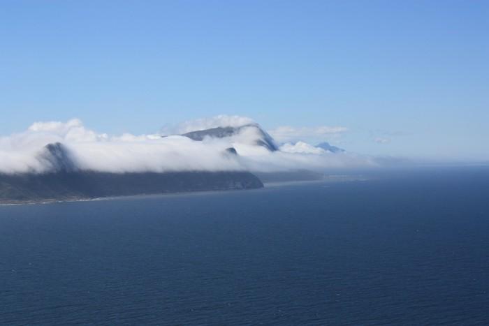 Nálepka Pixerstick Wolken am Tafelberg - Afrika