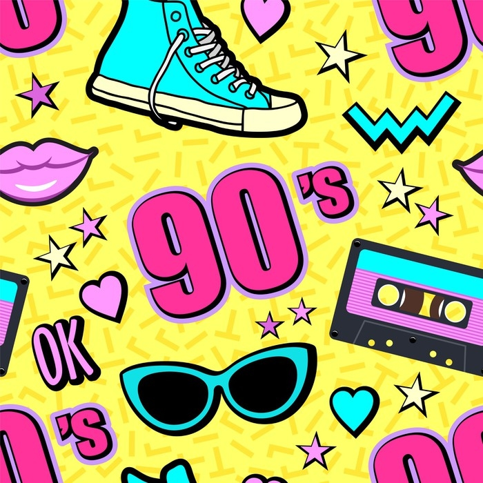 Vector Neon Pop Background 80s, 90s Wallpaper • Pixers