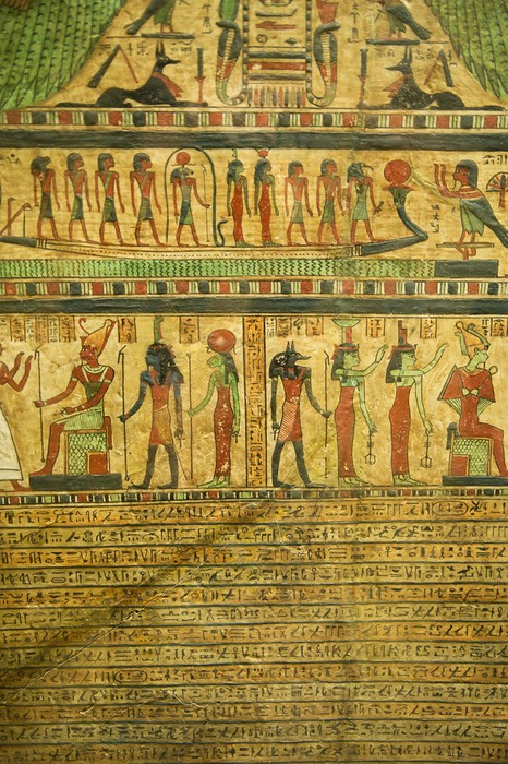 Egyptian hieroglyphs wall mural pixers we live to change for Egyptian wall mural