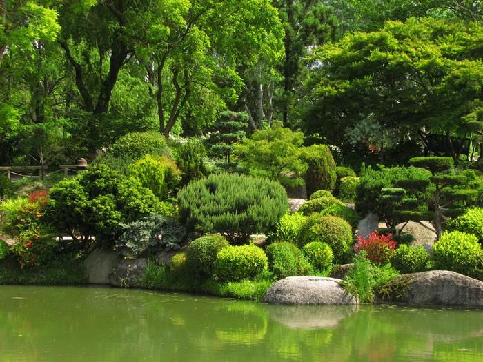Papier peint jardin japonais pixers nous vivons pour for Acheter jardin japonais