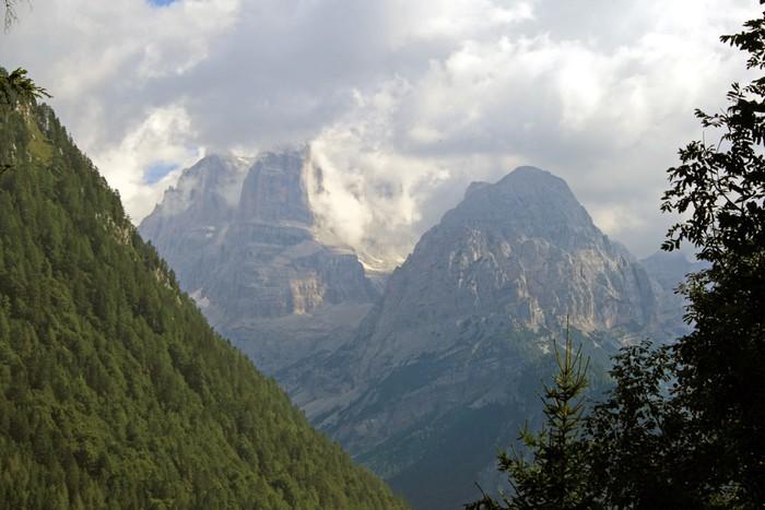 Vinylová Tapeta Trentino Alpy - Prázdniny