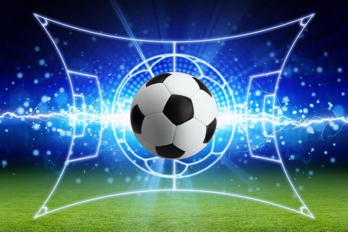 Vinilo Pixerstick Balón de fútbol a7e257452927e