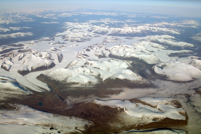 Vinylová Tapeta Island ledovec - Evropa