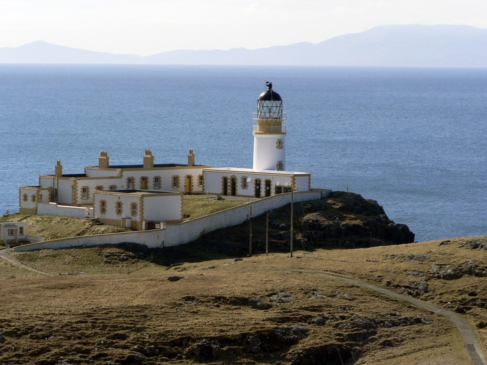 Vinylová Tapeta Cape Wrath Lighthouse Close - Evropa