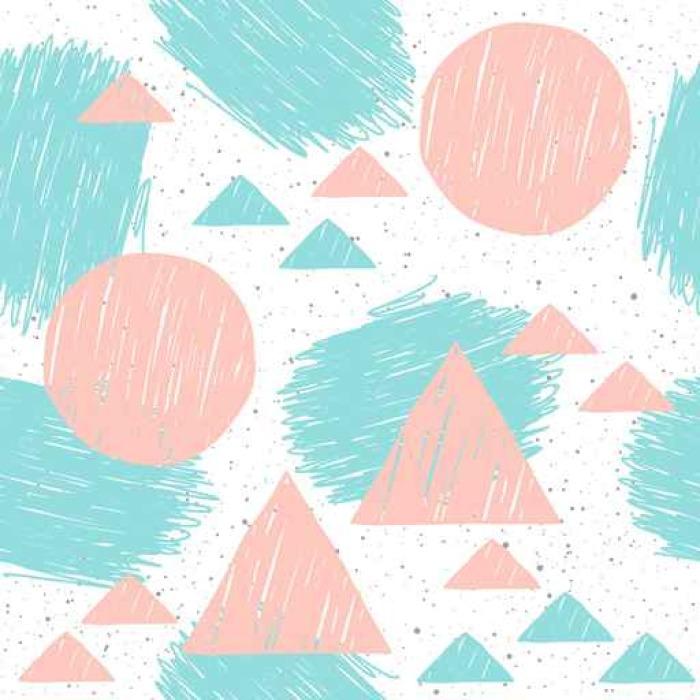 Vinylová Tapeta Doodle shapeseamless pozadí. - Grafika