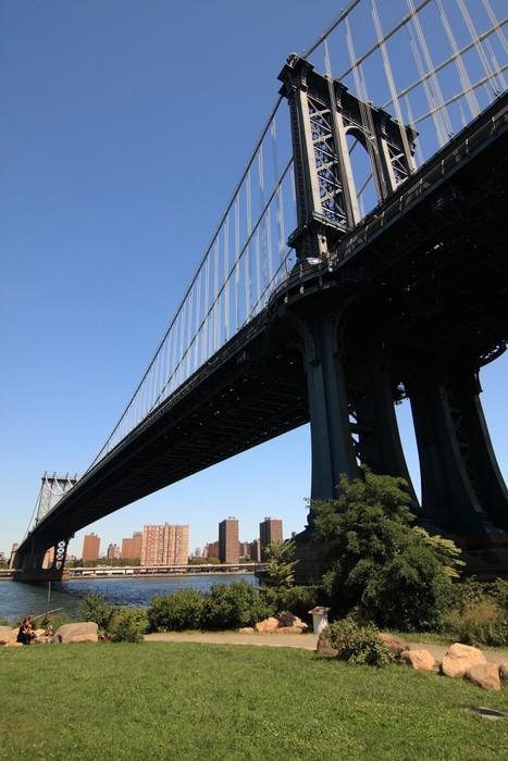 Vinylová Tapeta Manhattan bridge - Americká města