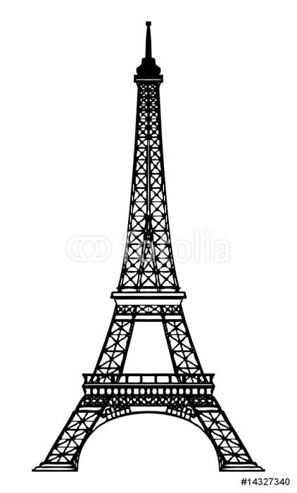 Tour Eiffel   Eiffel Tower Wall Mural   Vinyl   European Cities Part 80