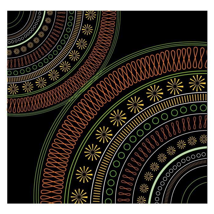 papier peint motif ethnique pixers nous vivons pour. Black Bedroom Furniture Sets. Home Design Ideas