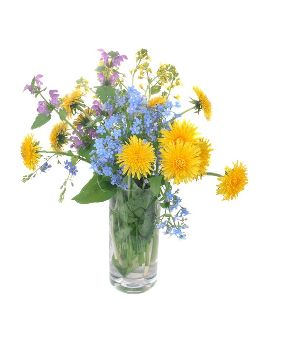 tableau sur toile bouquet de fleurs des champs pixers nous vivons pour changer. Black Bedroom Furniture Sets. Home Design Ideas