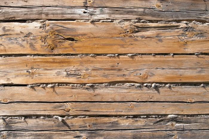 Vinylová Tapeta Surové dřevo zdi na pozadí - Témata