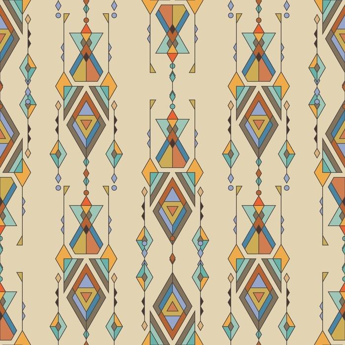 papier peint motifs mod le sans couture ethnique tribal. Black Bedroom Furniture Sets. Home Design Ideas