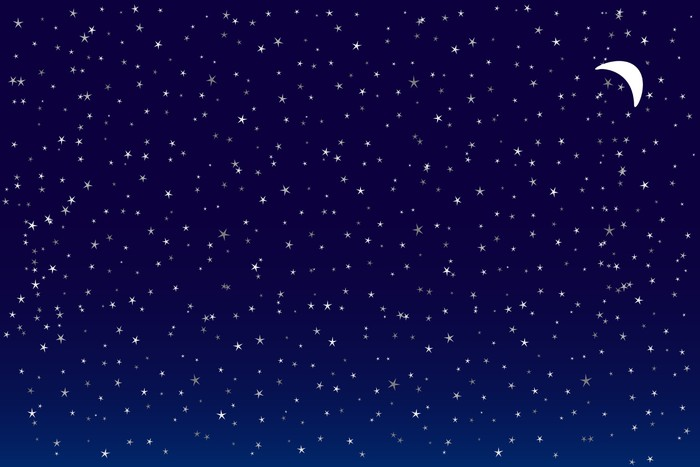 Vinylová fototapeta Starry Night - Vinylová fototapeta